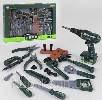 Детский игровой набор инструментов YF 791 / YF 791-1 с шуруповертом 2 вида