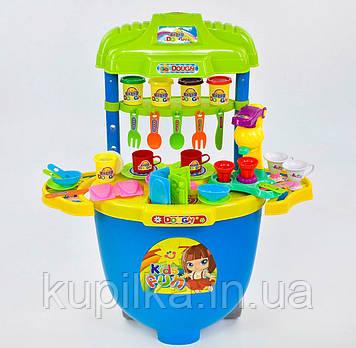 Детский игровой набор Тесто для лепки 008-99 с тележкой на колесах и аксессуарами