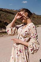 Шикарное женское платье с V-образным вырезом, фото 3
