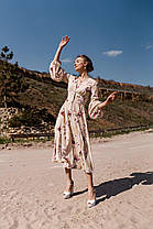 Шикарное женское платье с V-образным вырезом, фото 2