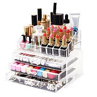 Органайзер Cosmetic Storage Box для хранения косметики и аксессуаров на 4 отделения, фото 1