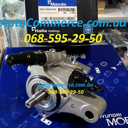 Насос гидроусилителя руля ГУР Hyundai HD78, HD72, HD65 Хюндай hd (571005H101) 3.9L, фото 2