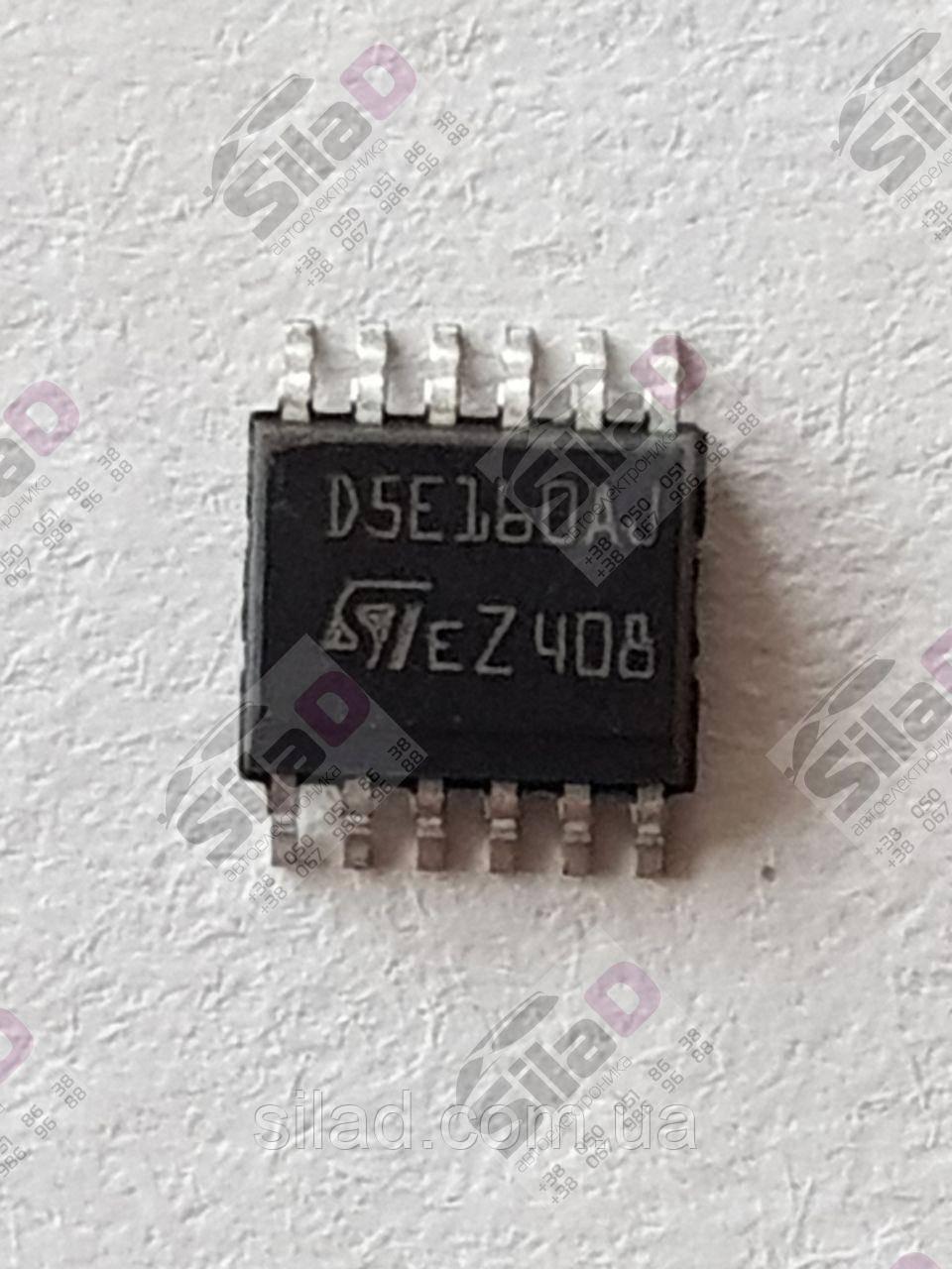 Микросхема VND5E160AJ D5E160AJ  STMicroelectronics корпус PowerSSO-12