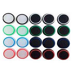 Силіконові Накладки на стіки джойстика (Подарункові) (2 шт) Premium Multicolored