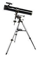 Телескоп F900114EQIII-M Magnifier Gemini 114/900 для астрономических наблюдений (серый)