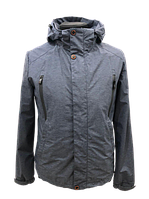 Куртка (ветровка) мужская MALIDINU MB-18311 48 Серая