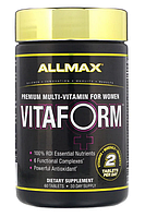Allmax Vitaform Women's Multivitamin 60 tabs, фото 1