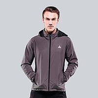Куртка ветрозащитная мужская Peak Sport F281051-GRA S Серый 6926992952469, КОД: 1492604