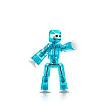 Фігурка для анімаційного творчості Stikbot Блакитна