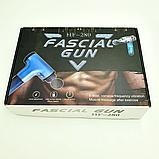 Массажёр Fascial Gun HF280 Серебристый, фото 3