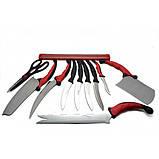 Набор кухонных ножей Contour Pro UTM Knives + магнитная рейка (11 предметов), фото 2