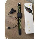 Смарт-часы UTM Smart F8 Black-Green, фото 3