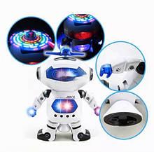 Танцующий светящийся интерактивный робот Dancing Robot