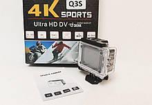 Экшн камера Q3S с боксом и креплениями