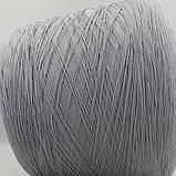 MIELE 65% хлопок 35% акрил - бобинная пряжа для машинного и ручного вязания, фото 2