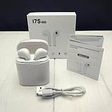 Беспроводные наушники HBQ I7S TWS с док страницей, фото 3