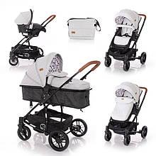 Детская коляска Lorelli S-500 set Светло-серый