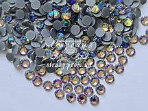 Термо стразы Lux ss16 Crystal Blue (4.0mm) 100шт