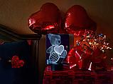 """Сменная пластина для 3D светильников """"Мишка с сердцем"""" 3DTOYSLAMP, фото 2"""