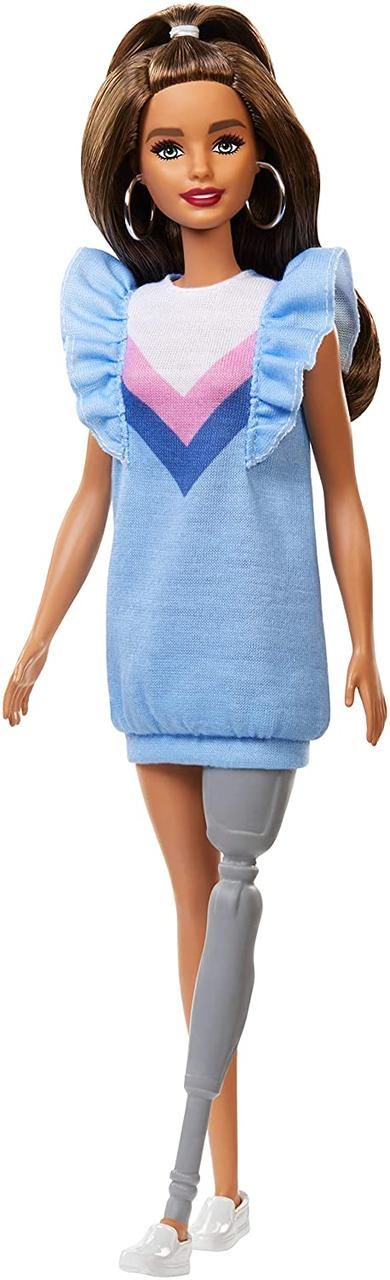 Оригинальная Барби Модница в голубом платье (FXL54) (887961694567)