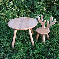 Детский столик и стульчик Олень