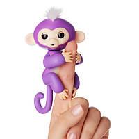 Ручна інтерактивна мавпочка Happy Monkey Fingerling