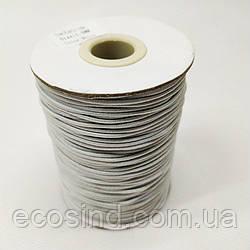1,5 мм Резинка круглая (шляпная) белая 100 ярд. (СИНДТЕКС-0276)