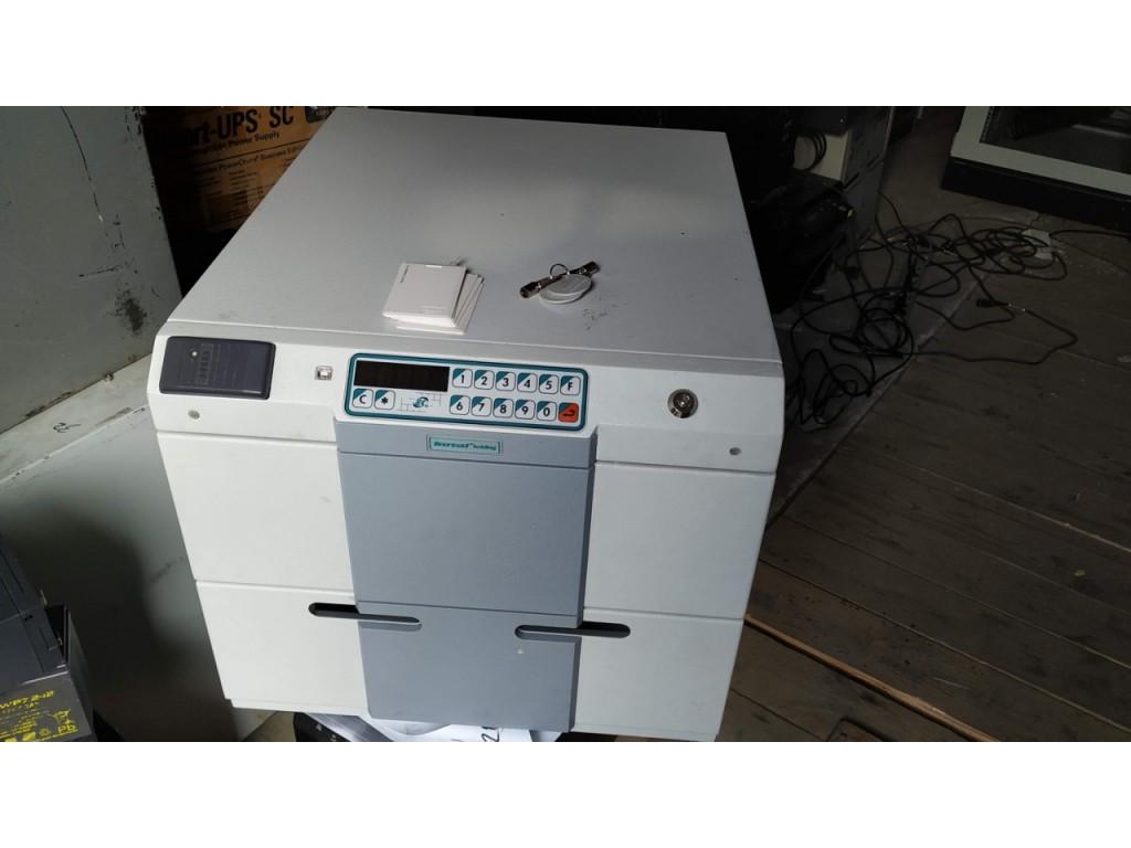 Б/У темпокасса, кассовый сейф koval 1512-c-eu в хорошем состоянии, с комплектом ключей и карточек доступа