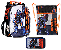 Комплект Class Рюкзак, пенал и сумка Robowars, фото 1