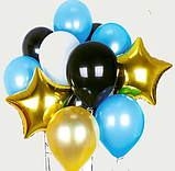 """Фонтан из шаров с гелием """"Необычный Лиловый"""", фото 4"""