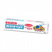 Новый жемчуг Детская зубная паста 3-14 лет зубная паста для детей дитяча