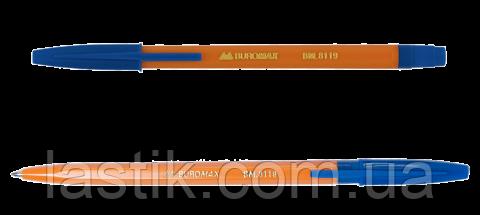 Ручка шариковая SUN, 0,7 мм, пласт.корпус, синие чернила, фото 2
