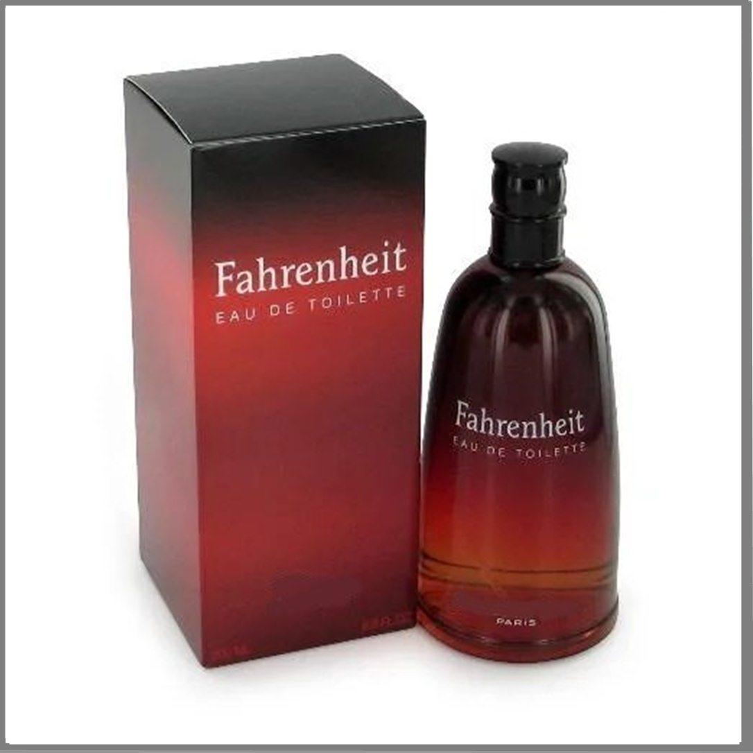 Fahrenheit Eau de Toilette туалетная вода 100 ml. (Фаренгейт Еау де Туалет)