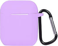 Кейс TOTO 2nd Generation Silicone Case AirPods Light Purple 101687, КОД: 1309810