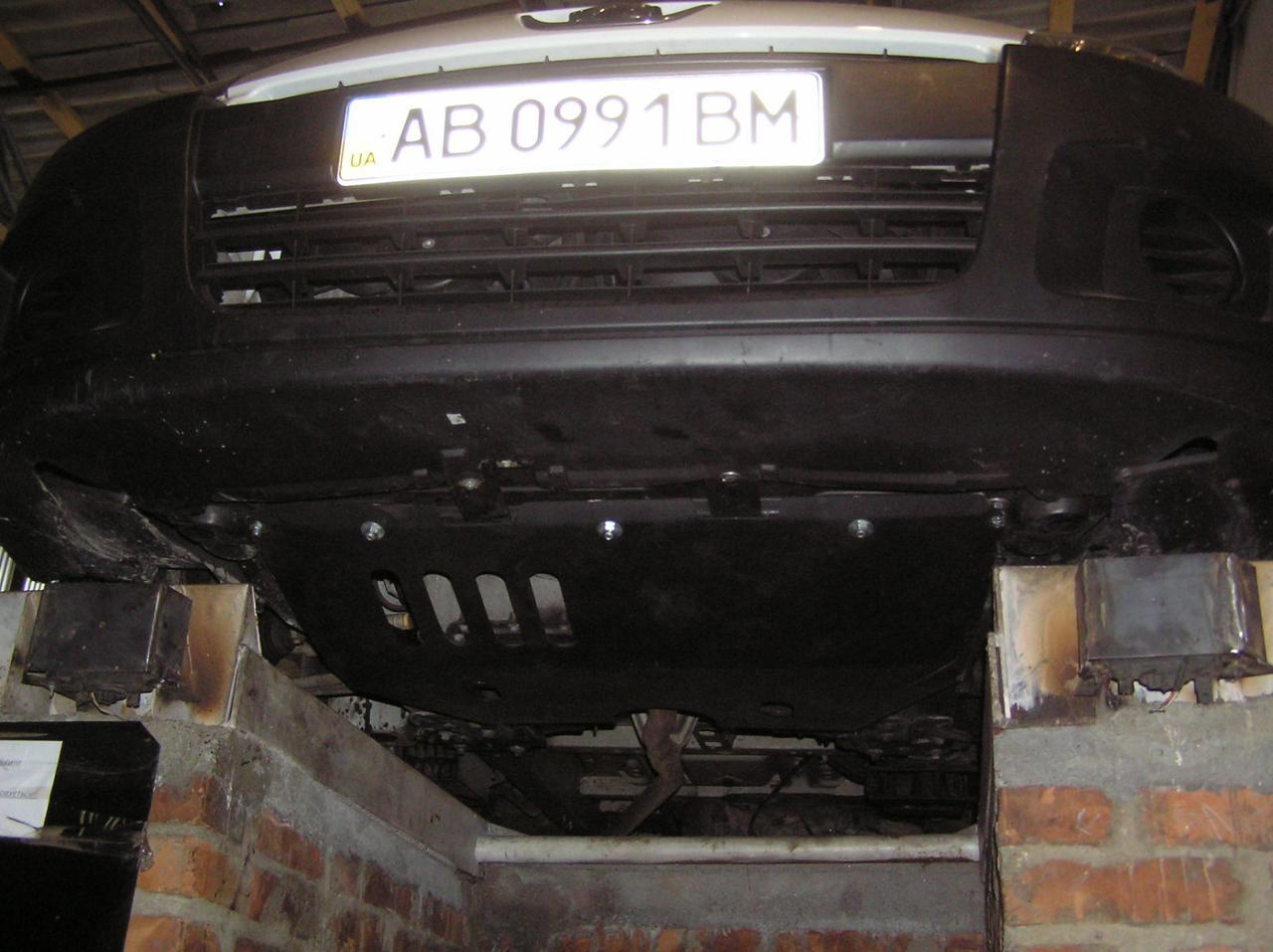 Защита двигателя Peugeot Expert (2007-2016) V-2,0 HDI МКПП (двигатель, КПП)