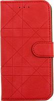 Чехол-книжка TOTO Book Silicone Slide Universal Cover 5.6 3 Red 78659, КОД: 1293553