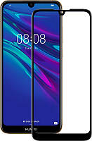 Защитное стекло TOTO 5D Full Cover Tempered Glass Huawei Y6 2019 Black 87266, КОД: 1301641