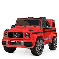 Детский электромобиль Машина Джип Merсedes AMG M4179 для мальчика девочки 3 4 5 6 7 8 лет на 2 моторах