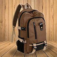 Мужской  вместительный стильный рюкзак, фото 1