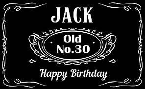 Плакат для праздника Jack (89938), 75х120 см