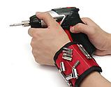 Магнитный браслет для инструментов со встроенными суперсильными магнитами Magnetic Wristband, фото 7