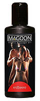 Массажное масло аромат клубники Magoon Erdbeere , 100 мл