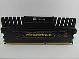 Оперативная память Corsair Vengeance DDR3 8Gb 1600MHz PC3-12800U (CMZ8GX3M1A1600C10) Б/У, фото 6