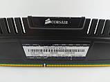 Оперативная память Corsair Vengeance DDR3 8Gb 1600MHz PC3-12800U (CMZ8GX3M1A1600C10) Б/У, фото 5