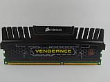 Оперативная память Corsair Vengeance DDR3 8Gb 1600MHz PC3-12800U (CMZ8GX3M1A1600C10) Б/У, фото 3