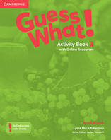 GUESS WHAT! LEVEL 3 ACTIVITY BOOK WITH ONLINE RESOURCES