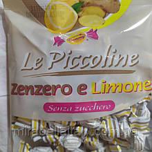 Мини леденцы без сахара Лимон+Имбирь