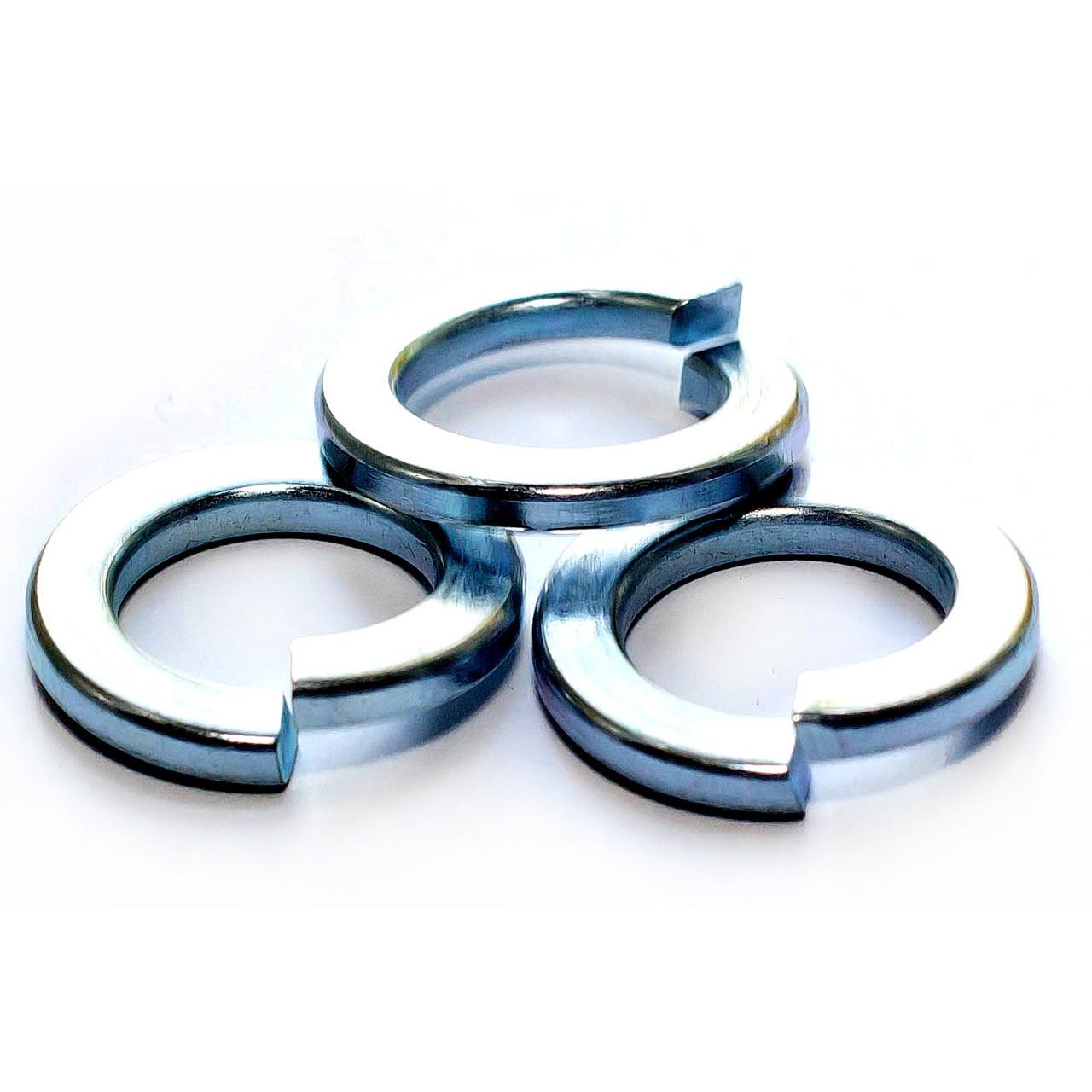 Шайба пружинная М2 ➜ 1000 шт/упак ➜ Гровер стальной оцинкованный ➜ Пружинні шайби