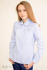 Блузка школьная для девочек 5062 ТМ Albero Размеры 134- 158