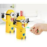 Диспансер для зубных принадлежностей Миньон Original Yellow, фото 2